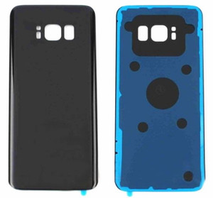 30pcs For SAMSUNG Galaxy S8 G950F G950U  S8 Plus G955F G955U Back Battery Cover Door Rear Glass Housing Case Replace Battery Cover