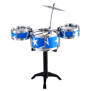 Wholesale musical percussion resale online - Jazz Drum Kids Early Education Toy Percussion Instrument Great Gift Children Kid s Toys Gift Musical Toy Musical Instruments