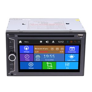 Wholesale player cd for sale - Group buy EinCar Double din In dash Car stereo car DVD CD MP3 Player Radio Video Audio Bluetooth Subwoofer Radio Steering Wheel
