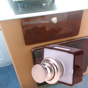 Wholesale knob door locks for sale - Group buy Large Push Lock with Handle Button Drawer Cupboard Door Knob for Ship Yacht RV mm Furniture Locks