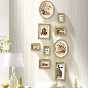 Wholesale wooden photo frames home resale online - Picture Frames For Paintings Wooden Frame For Wedding Decor Photo Frame set Wall Pictures For Living Room Porta Retrato Decor Home