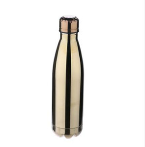 Wholesale mirrored bottles for sale - Group buy 3 Colors bike bottle ml Water Cup Portable Vacuum Insulated Stainless Steel Mirror Water Bottle Bicycle Accessories