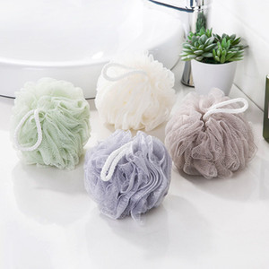 Wholesale Flower Bath Ball Bath Scrubber Body Cleaning Shower Mesh Ball Wash Sponge For Body Bathroom Accessorie