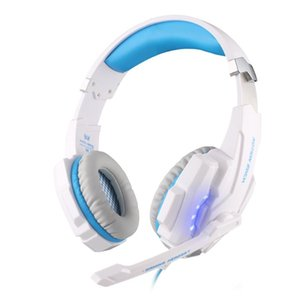 Wholesale New mm Stereo Jack Gaming Headset Headphone with Mic LED Light for Xbox One S Xbox one PS4 Tablet Laptop Cell Phone with Package