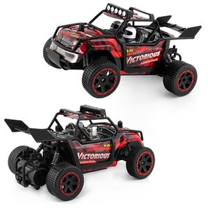 RC Toys High Speed 1:18 2.4G Remote Control Car Cross Country Drift Climbing Child Kid Toy 52xd V