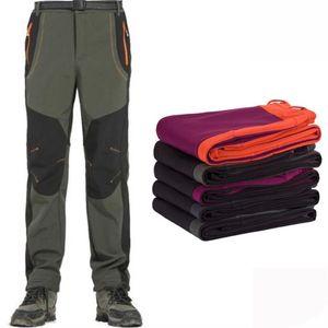 Winter Men and Women Skiing Hiking Pants Outdoor Trousers Waterproof Windproof Climbing Women Snowboard Pants