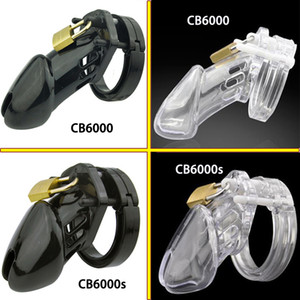 Wholesale CB6000 CB6000s male chastity device plastic cock cage penis sleeve sex toys for men dick lock bdsm bondage cock ring penis cage Y1892804