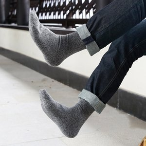 Wholesale 2017 Thick Merino Wool Socks High Quality Classic Business Brand Socks Men s Autumn Winter Warm For Men Big Size
