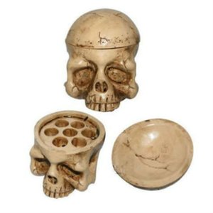 Wholesale Skull Style Hole Tattoo Ink Cup Holder Ink Cup Stand Brand New Specially Designed Tattoo Studio Accessories