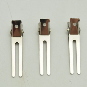 350pcs 4.5cm Double Prong Alligator Curl Clips - for hairbow hair bows
