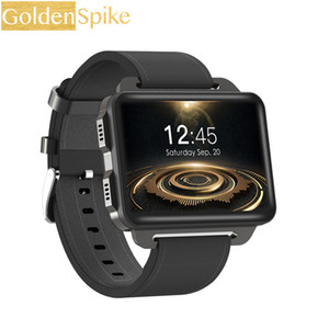 Wholesale Newest DM99 Smart Watch G WIFI GPS Android OS MT6580 Quad core CPU Screen MP Camera mAh Battery smartwatch