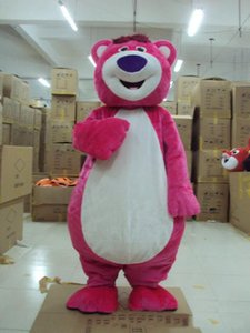 Wholesale 2018 Discount factory sale Masha And the Bear Mascot For Adults Ursa Grizzly Mascot Costume Cartoon Character Fancy Party Dress