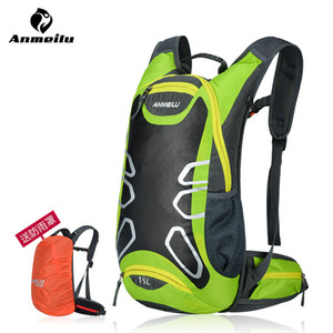 Wholesale ANMEILU Brand Outdoor Bicycle Hiking Backpacks Waterproof MTB Road Mountain Bike Water Bags Climbing Cycling Backpack Rain Cover