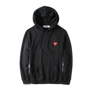 Wholesale Famous mens designer jackets Sweatershirt Pullover HOODIES WITH red HEART OFF HOLIDAY WHIET windbreaker jacekt for man woman