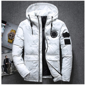 Wholesale 2018 High Quality White Duck Thick Down Jacket Men Snow Parkas Male Warm Brand Clothing Winter Down Jacket Outerwear