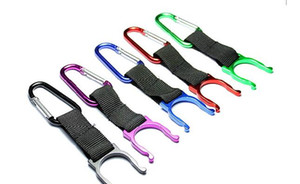 NEW Locking Carabiner Clip Water drink Bottle Travel Buckle Hook Holder Snap Clip With Hiking Camping Snap hook clip-on
