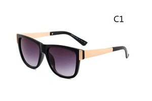 Wholesale 2018 New men women Sunglasses woman brand alloy frame pink mirror sun glasses for women clear lens eyeglasses lady eyewear Quality A