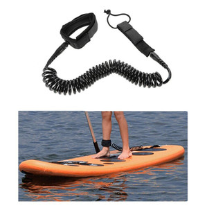 Wholesale Surfboard Ankle Leash Rope ft Coiled Stand UP Paddle Board Surfing Cord String Aug11 Drop Ship
