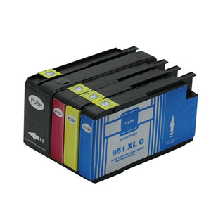 4PK Ink Cartridges Replacement For HP 950 950XL 951 951XL Officejet Pro 8640 8660 8615 8625 8610 8620 8630 Show Ink Level