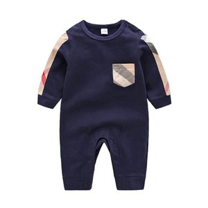 Wholesale High Quality Baby Clothes Spring Summer Long Sleeved Cotton Romper Baby Bodysuit Clothes Children Clothing Cartoon Fashion Girl Jumpsuit Rom