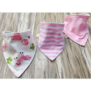 Wholesale Care Baby Baby Boy Girls Saliva Towel Bandana Bibs Dribble Triangle Kids Head Scarf Convenient