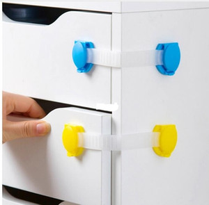 Wholesale 2017 Plastic Baby Safety Protection Child Locks Cabinet Door Baby Security Lock