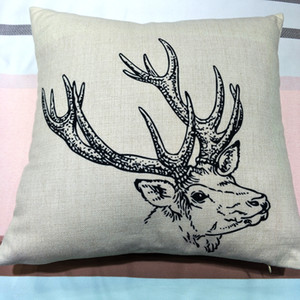 18x18 inches blank polyester pillow case for sublimation print poly burlap pillow cover blanks for DIY heat press printing