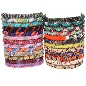 Wholesale 15pcs Nepal bracelets Czech bead bracelet Fashion Handmade bracelet best unique gifts