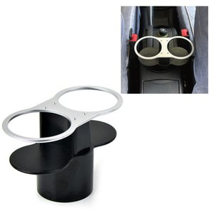 Creative Car Drinks Holders ABS Double Car Cup Holder Drinks Holders Vehicle Truck Drink Bottle Cup Racks styling QP195