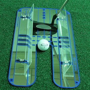 Wholesale New Golf Putting Mirror Alignment Training Aid Swing Trainer Eye Line Golf Practice Putting Mirror Large x23 cm