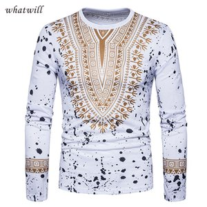 Wholesale 3d africa clothing mens fashion dashiki t shirts hip hop african clothes brand world apparel casual man tops tees