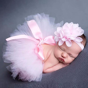 Trendy 1PC Fashion Newborn Baby Girls mascot Costume Photo Photography Prop Outfits Head Bands