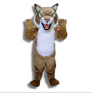 Wholesale Hot on the sale of tiger Mascot Costume Adult Size Cartoon Character Carnival Party Outfit Suit Fancy Dress