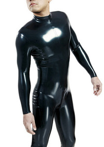 XS-XXL New arrival hot sale exotic lingerie male Men handmade Latex Sexy ceckc Uniform Outfit Cosplay Bodysuit catsuits