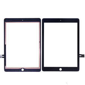 30Pcs For iPad 9.7 (2018 Version) For iPad 6 6th Gen A1893 A1954 Touch Screen Digitizer Front Outer Panel Glass DHL Free