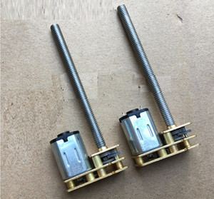 Wholesale diy geared motor for sale - Group buy 2PCS N20 Flip M4 mm Great Screw Gear Motor Micro Thread Motor DIY Miniature DC Motor With mm Length Shaft