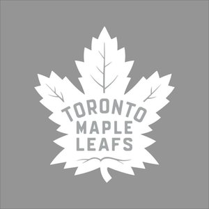 Wholesale Car styling for Toronto Maple Leafs NHL Team Logo Color Vinyl Decal Sticker Car Window Wall