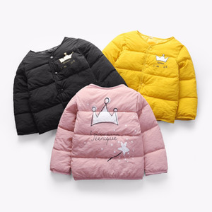 Girls Winter Jackets Coat Kids Thick Warm Down Parkas for Girls Down Liner Coat Children Outwear Clothing Baby Outfits on Sale