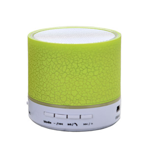 New arrived colorful LED light HI-FI Stereo Portable Mini Bluetooth Speaker for iPhone , useful fm radio usb sd card reader speaker