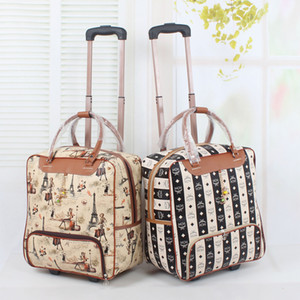 Wholesale quot female travel duffle bags on wheel girls lovely cartoon travel bags colors types available good quality bags