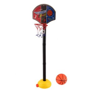 Wholesale New Kids Sports Portable inflatable Basketball Toy Set with Stand Ball & Pump Toddler Baby kids gift
