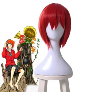 Wholesale 2018 Ancient Magus Bride Chise Hatori Cosplay Wig Red Short Straight Bob Wigs gt gt gt gt New High Quality Fashion Picture wig
