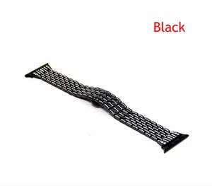 Wholesale Watch Band Luxury Crystal Rhinestone Diamond Watch Band Stainless Steel Bracelet Strap Compatible with Apple Watch mm mm Series