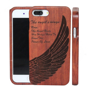 Wholesale Wooden phone Case Engraving Design Case For Iphone s plus plus x Xsmax Samsung S8 Note S9 S9 plus Note