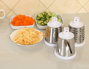 NEW Design Mandoline Grater Vegetables Cutter Tools 3 Blade Carrot Grater Onion Vegetable Slicer Kitchen Accessory