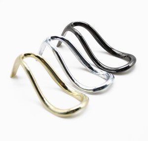 Wholesale High heel shoes metal pipe rack gold and silver gun three color pipe fittings stainless steel pipe rack