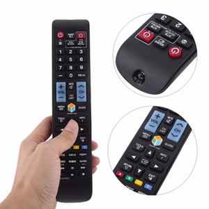 Wholesale samsung smart tv remote control replacement for sale - Group buy Freeshipping AA59 C Remote Control Universal Controller For Samsung LCD LED Smart TV Replacement Black
