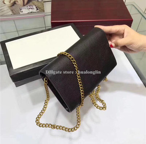 Women Bag New Genuine Original box Leather Messenger bag Purse cross body bag shoulder women original box fashion purse lady