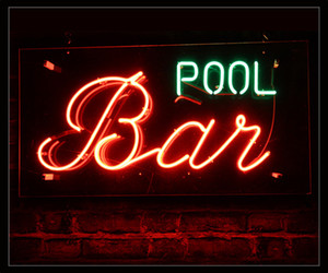 Pool bar Neon Beer Sign Bar Sign Real Glass Neon Light Beer Sign New Blue Star Beer Bar Pub Real Glass Handmade Neon 24x20