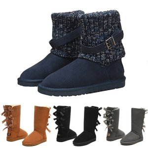 Free shipping winter New designer Classic snow Boots Cheap womens winter boots fashion discount Ankle Plus cotton Boots shoes size 5-10 on Sale